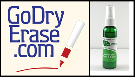 Dry Erase Cleaner that Really Works – and it's Non-Toxic